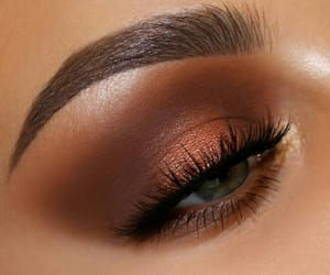 makeup, eye, and eyebrow image