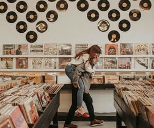 music, couple, and vintage image