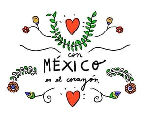 mexico, heart, and mexican image