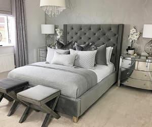bedroom, black, and fashion image