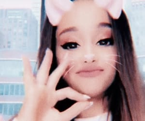 blue, cutie, and arianagrande image