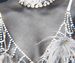 theme, black and white, and diamonds image