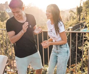 couple, gabriel conte, and youtuber image