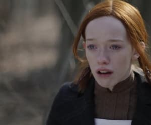 crying, anne with an e, and amybeth mcnulty image