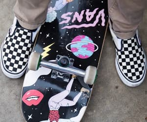 skateboard and vans image