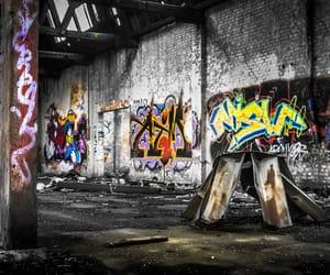 abandoned, bricks, and broken image
