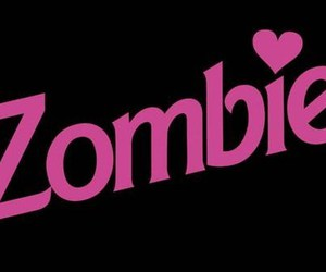 zombie, barbie, and pink image