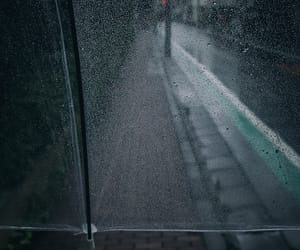 drops, rain, and walk image