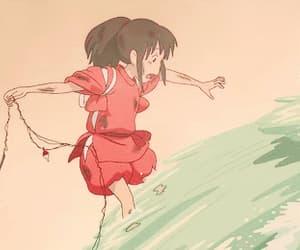 anime, gif, and spirited away image