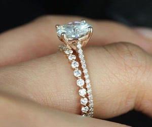 engagement, husband, and ring image