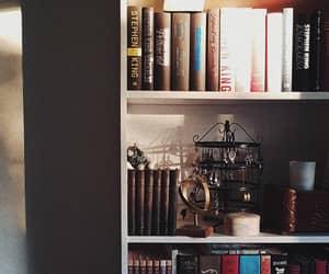 books, bookshelf, and clowns image