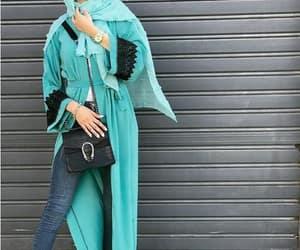 abaya hijab style image