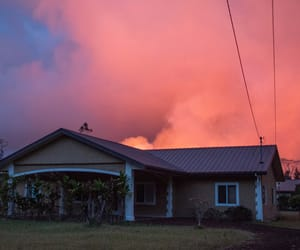 clouds, hawaii, and house image