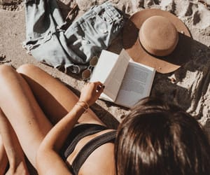 beach, style, and summer feeling image