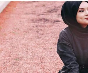 fille, girl, and hijab image