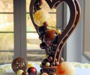 chocolate, comida, and postre image
