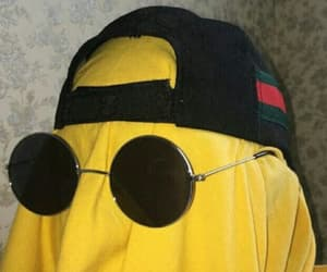 yellow, boy, and funny image