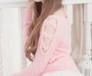 kawaii, pink, and style image