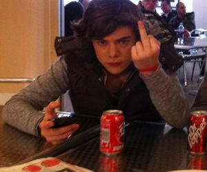1d, Harry Styles, and fuck you (: image