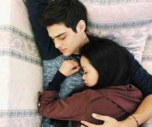 lara jean, peter kavinsky, and book image
