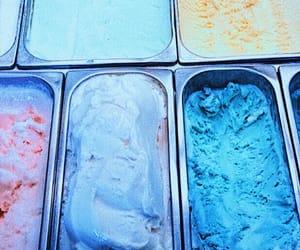 ice cream, food, and pastel image