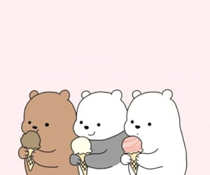 bear, kawaii, and fondo image
