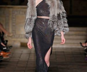 fashion, glitter, and runway image