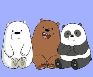 wallpaper, bear, and cartoon image