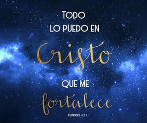 Cristo, fortaleza, and versículos image