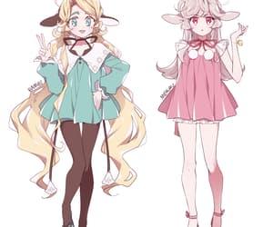 anime, OC, and winter fashion image
