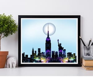 etsy, new york, and poster image