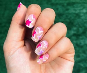 belleza, estrellas, and nail image