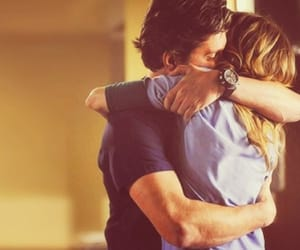 meredith grey, meredith and derek, and derek shepard image