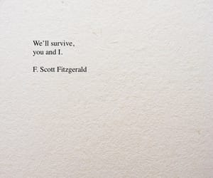 quotes, f. scott fitzgerald, and text image