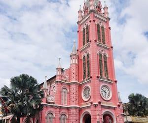 blue, Catholic, and church image