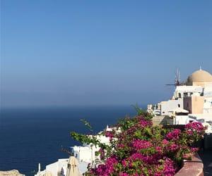 aegean sea, blue, and Greece image