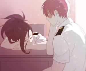 anime couple, boku no hero academia, and anime image