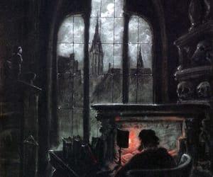 art, black, and goth image
