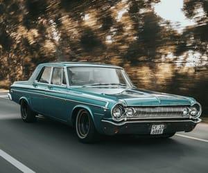 car, retro, and rides image