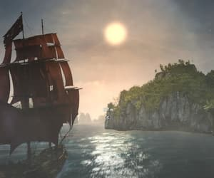 assassins, black flag, and creed image