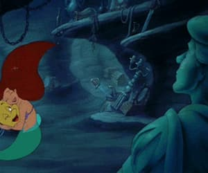 gif and little mermaid image