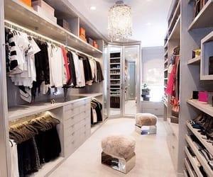closet and home image