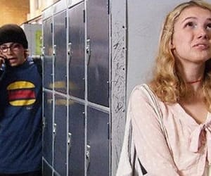 cassie, hannah murray, and mike bailey image