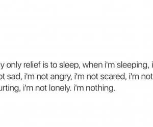 angry, lonely, and nothing image