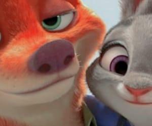 coelho, raposa, and zootopia image