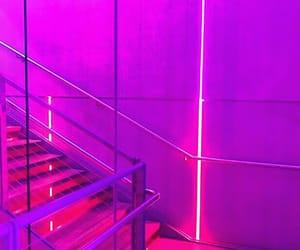 aesthetic, escalera, and glow image