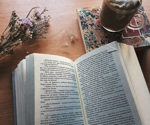 aesthetic, books, and coffee image