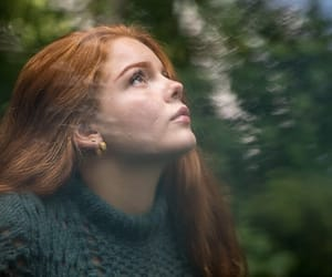 aesthetic, forest, and freckles image