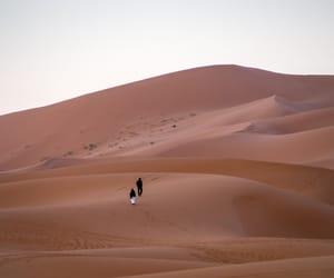 desert, sand, and tumblr image