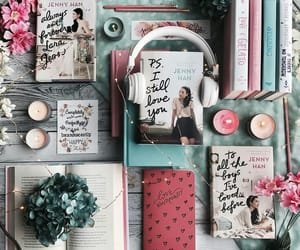 book, lara jean, and aesthetic image